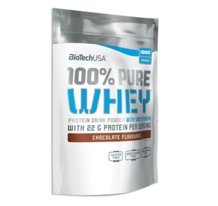 Biotech USA - 100% Pure Whey 1 kg - Real Nutrition Wholesale