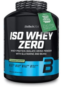 Biotech USA - ISO Whey Zero - 908 g - Real Nutrition Wholesale