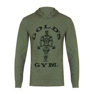 Gold's Gym - Muscle Joe Long Sleeve Hooded T-shirt (Army Marl)
