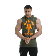 Gold's Gym - Drop Armhole Sweater - Army - Realnutrition Wholesale