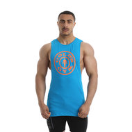 Gold's Gym - Logo Vest - Blue - Realnutrition Wholesale