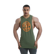 Gold's Gym - Logo Vest - Army - Realnutrition Wholesale