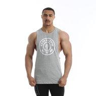 Gold's Gym - Logo Vest - Grey Marl - Realnutrition Wholesale
