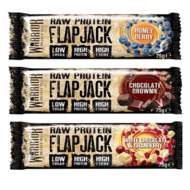 Warrior Raw protein Flapjack - Real Nutrition Wholesale