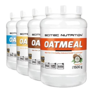 scitec oatmeal banana 1500g Real Nutrition Groothandel