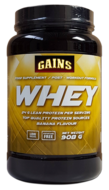 GAINS Whey Protein (908g) - Banana