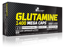 Olimp Glutamine Mega Caps - 120 caps