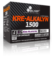 Olimp Nutrition - Kre-Alkalyn 1500 (120 caps)