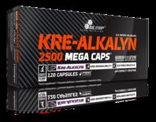 Olimp Nutrition - Kre-Alkalyn 2500 Mega Caps (120 caps)