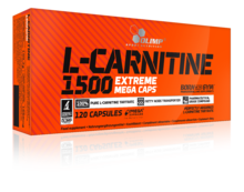 Olimp Nutrition - L-Carnitine 1500 Extreme Mega Caps (120 caps)