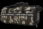 Gold's Gym - Camo Print Barrel Bag - realnutritionbe